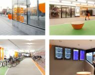 Design of the parking facility for cargo bikes