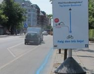 Improved accessibility for cyclists