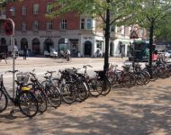 1,000 new bicycle parking spaces